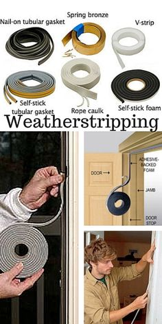 Do you know how to protect against drafts around movable building components such as doors? Weatherstripping is a great option to reduce heating costs and stop cold air from creeping in. Take a look at this article to help choose the type of weatherstripping that is right for your situation and get started with this easy DIY way to start cutting your heating costs!