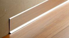 Atrim - La terminación perfecta - Zócalos - Slim - Acero Inoxidable-Aluminio