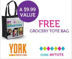Free Tote Bag + Shipping from York Photo - http://www.livingrichwithcoupons.com/2013/05/york-photo-coupon-code-free-tote.html