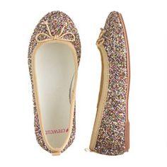 4b817fe0a38b Classic Glitter Ballet Flats from Crewcuts Glitter Flats