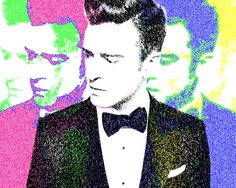 Justin Timberlake - Andy Warhol Style