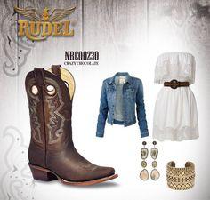Te damos una idea para combinar tus botas #Rudel. #RudelVaBien http://botasrudel.com/tienda/dama/crazy-chocolate-3/