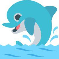 Dolphin #emoji #emojione