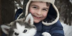 """This Husky Dog Say's """"I LOVE YOU"""""""