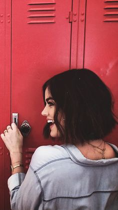 Page 3 Read from the story Fotos Para Portadas by escritosYMSR (Y. Luci Hale, Camila Mendes Riverdale, Preety Little Liars, Aria Montgomery, Tumblr Girls, Role Models, Debby Ryan, Short Hair Styles, Hair Beauty