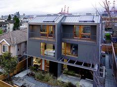 Quatro Casas / SHAPE Architecture http://www.archdaily.com.br/br/759845/quatro-casas-shape-architecture