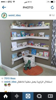 Use Rain Gutters To Make Shelves For Books! This Is Genius And Gorgeous!