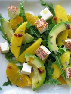 Caprese Salad, Fruit Salad, Mango Curry, Good Healthy Recipes, Healthy Food, Coleslaw, Fruit Recipes, Catering, Good Food