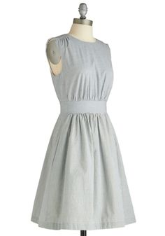 Seersucker-esque navy/white striped dress. Available in XS, $79. 15 likes/repins and I buy & try with a report back. Shorties that start following the Petite Styling board are worth 2 likes.