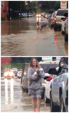 Meanwhile in West Virginia... (a spot of humor to lighten the mood around the floods)  http://lolsalot.com/meanwhile-in-west-virginia-a-spot-of-humor-to-lighten-the-mood-around-the-floods/  #Funny #Pic