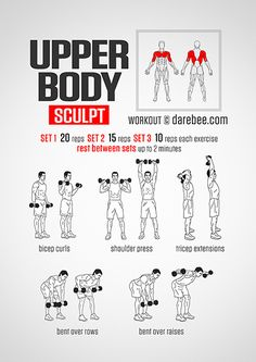 Upper Body Sculpt Workout http://innovativebalance.com/ #Innovativebalance #Innovativbalanc