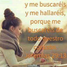 Todo el que busca a DIOS SANTO de todo corazon, lo encuentra, eso nos dice El ;)