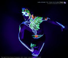 Black Light - Black light Welcome To The FUTURE project Welcome To The FUTURE project Web : http://www.welcometothefuture.fr Facebook page : www.facebook.com/welcometothefutureproject Created by : Free Spirit Photography: Blue Shadow (Hossa photography) keywords : Lighting / Ultraviolet / Blacklight / neon photography / body painting / UV makeup / body art TAGS : #neon #blacklight #makeup #bodypainting #ultraviolet #fluo #welcometothefuture #facepainting #uv #mua #makeupartist #neonportrait