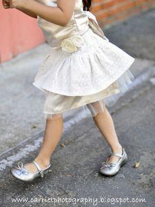Sweet Drop-Waist Double Ruffled Skirt