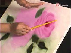 Pinturas Florais - Pintura a óleo - Rosas