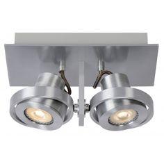 #Zuiver #Plafondspot Luci-2 - Dimbare LED - Zilver #designonline24
