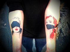 Ahh...Rene Gruau ispired tattoo