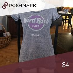 🌟Hard Rock Cafe Dallas Tee🌟 Great used condition! Junior fitted tee. Tops Tees - Short Sleeve