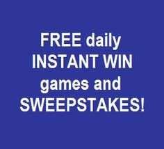 free instant win prizes