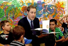 Prince William, who like his mother before him, does so much for the less fortunate