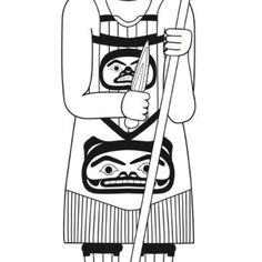 My uncle Wayne hewson (Tsimshian carver recently designed a veterans totem pole in metlakatla. This is a design made by Wayne Hewson