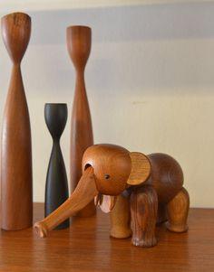 Vintage Original Kay Bojesen Wooden Elephant on Etsy, 296,10€