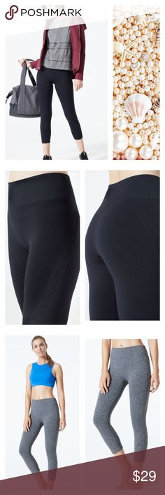 🏃🏼♀️💨 MPG Heather Gray Cardio Capri Legging New (without tag). Heather gray MPG Cardio Seamless Capri Legging. MPG Pants Leggings
