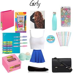 Back to school- Outfit #2 + Supplies