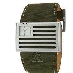 CALVIN KLEIN MEN'S WATCH Final price $ 52 Sleek stainless steel  case Canvas strap Calvin Klein Accessories Watches
