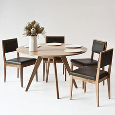 Audrey 48Inch Round Extension TableLiving RoomPinterest