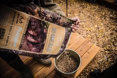 Realtree Big Game Blend Pellets =  a hunter's best friend. Try them while you #TraegerThanksgiving this year.