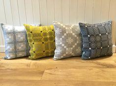 Melin Tregwynt Cushions at Nora's Ilkley, Yorkshire Knot Garden  St David's Cross