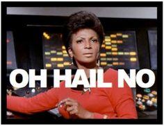 Star Trek Humor with Uhura