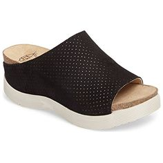 6326ec130a3e FLY London Womens WHIN176FLY Slide Sandal Black Cupido 37 M EU 657 US --  Learn