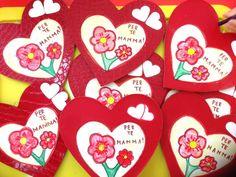 Quadretto per la mammaLavoretto per la festa della mamma Mother's Day Projects, Valentines Day, Grande, Crafts, Ps, Mother's Day, Alphabet, Spring, Valantine Day