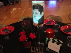 Red Carpet Centerpiece - Elvis Presley