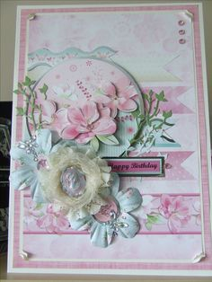 hunkydory  floiral fantasia  luxury inserts for cards
