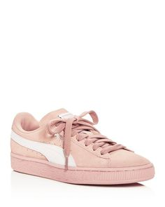 bdfba3d2b231b2 Puma Women s Classic Suede Lace Up Sneakers Puma Suede
