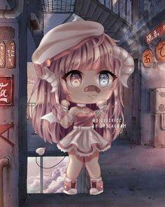 bye bye gacha go XD Cute Anime Chibi, Kawaii Chibi, Kawaii Anime Girl, Cute Anime Character, Cute Characters, Character Outfits, Anime Girl Drawings, Cute Kawaii Drawings, Gato Anime