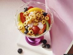 Cereal Chill-Out Parfaits