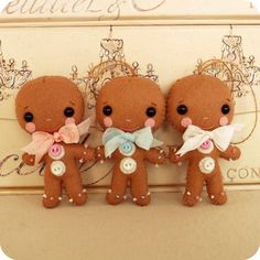 cute gingerbread dolls