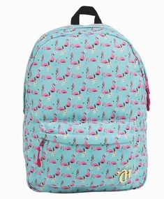 06aa4ed56 Mochila Capricho Flamingo Sound System - 11014 Com Fone Bolsas Capricho,  Bolsa De Escola Feminina