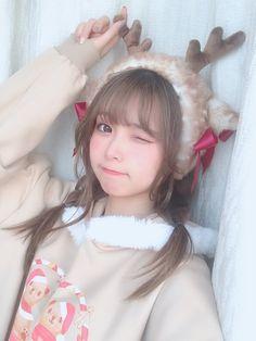 Cute Japanese Girl, Cute Korean Girl, Cute Asian Girls, Beautiful Asian Girls, Cute Girls, Looks Kawaii, Cute Kawaii Girl, Cute Girl Face, Girl Korea