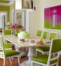 decoracao de interior: Decoração e Cores para Sala de jantar 2013