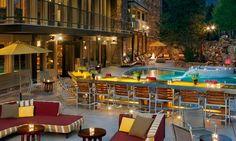 Outside at Sky Hotel, Apres Ski, Aspen