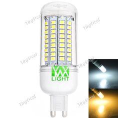 YWXLight G9 220-240V 12W 1000-1200LM 102-LED SMD 2835 LED Light Bulb Warm White Natural White HLT-514942