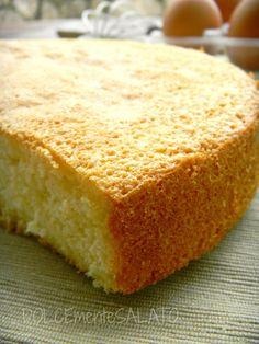 DOLCEmente SALATO: Pan di Spagna di Montersino