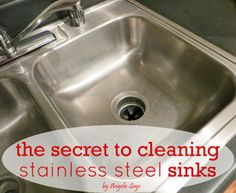 How to Clean Stainless Steel Sinks