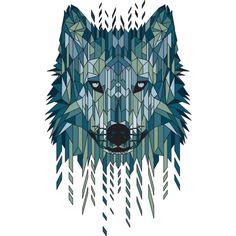 Geometric Wolf T Shirt By Jun087 Design By Humans