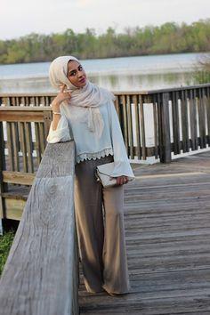 Sincerely Maryam: Widelegs & White waysify